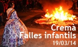 Cremà Falles infantils 2014
