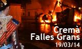 Cremà Falles grans 2014