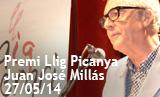 Acte lliurament premi Llig Picanya 2014 a Juan José Millás