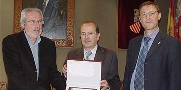 Premi Nacional de Comerç Interior atorgat pel Ministeri d'Indústria