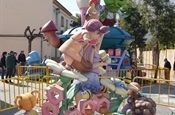 Falla infantil Pl. País Valencià