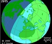 Eclipse parcial de sol el proper divendres 20 de març