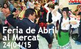 Feria de Abril al Mercat Municipal