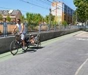 Obert a la circulació el nou tram de carril bici-vianants del C/ Gómez Ferrer