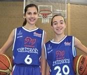 Dues picanyeres a la selecció aleví de bàsquet de la Comunitat Valenciana