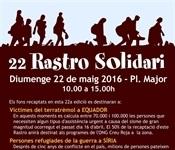 Ajuda a les víctimes del terratrèmol a Equador i als refugiats sirians a Jordània i Líban