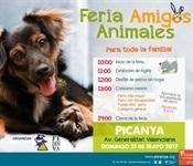 Nova edició de la Fira d'Amics dels Animals este diumenge 21 de maig