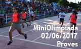 MiniOlimpiada de la 35a Setmana Esportiva - Proves