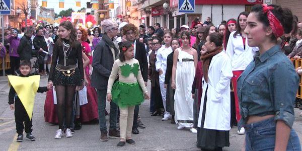 FALLES 2018 - Cavalcada Ninot Infantil - Falla Barri del Carme