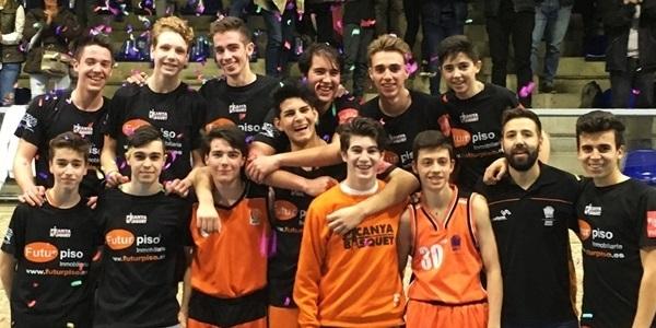 Els juniors del Picanya Bàsquet guanyen la lliga i ascendeixen a Preferent