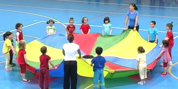 Setmana esportiva - Festa fi de curs de xiqui-ritme i ball modern