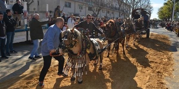 Festa de Sant Antoni (carruatges i cavalls)