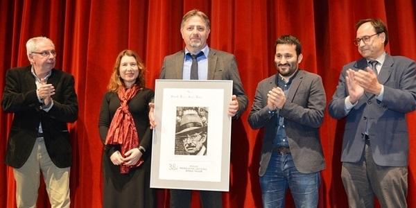 Vicent Enric Belda guanya el 38è Premi Enric Valor