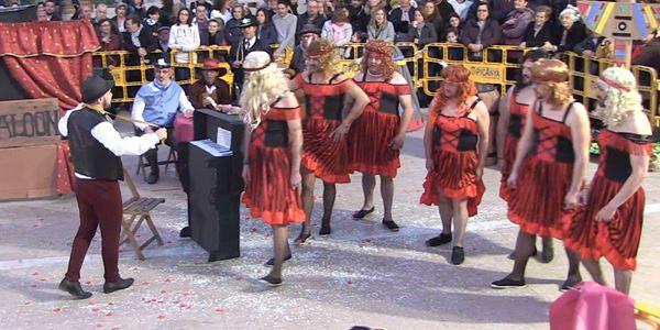 FALLES 2019 - Cavalcada Ninot  - Falla Barri del Carme