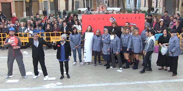 FALLES 2019 - Cavalcada Ninot  - Falla Vistabella