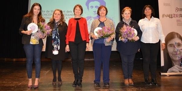 Les doctores Emilia Morallón i Duna Roda guanyen els primers premis Concepción Aleixandre