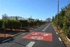Via preferent per a vianants i ciclistes al Camí dels Horts