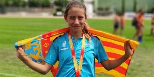 Emma Jiménez  és campiona d'Espanya