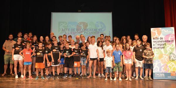 FESTES 2019 - Acte de reconeixement a l'esport picanyer