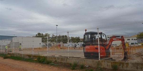 En marxa les obres del nou magatzem municipal