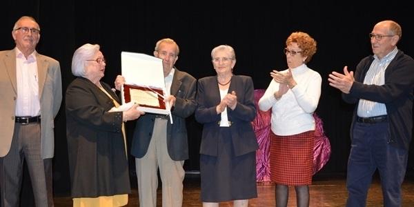El Centre de Persones Majors ret homenatge al soci de més edat