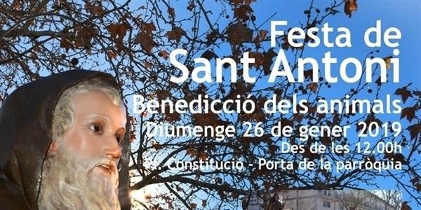 La festivitat de Sant Antoni s'ajornà fins al proper diumenge 26