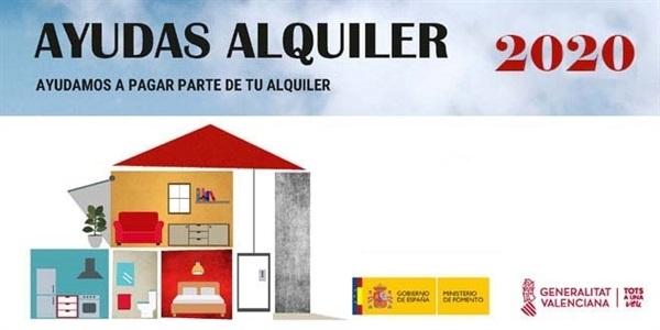 Ajudes al lloguer de vivenda de la Generalitat Valenciana i el Govern Central